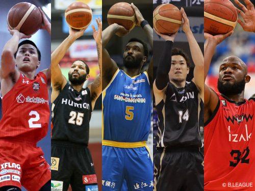 2020-21シーズン B1で最も多くの3ポイントシュートを決めた選手は?