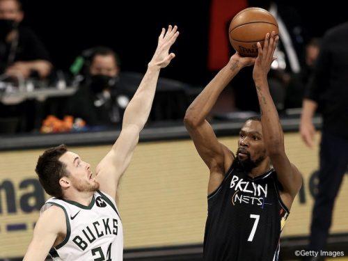 ネッツが後半に大逆転勝利、デュラントがシリーズ王手に導く/NBAプレーオフ