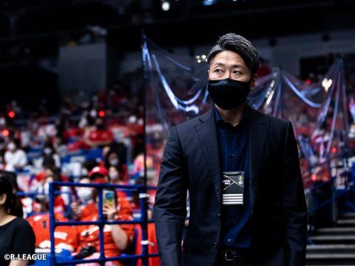 今シーズンの最優秀ヘッドコーチ賞…千葉の大野篤史HCが受賞