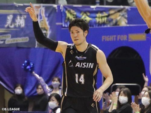 レギュラーシーズンMVPを初受賞の金丸晃輔…「いつかは取りたいと思っていた」