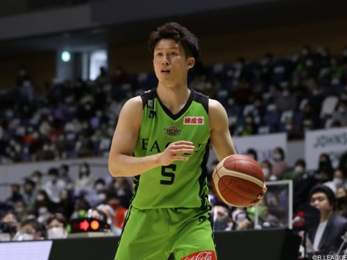北海道が葛原大智との契約継続を発表…今季59試合で平均4.8得点