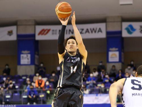 今季MVPを受賞した金丸晃輔が三河から退団「8年間は一生僕の中で特別な財産」
