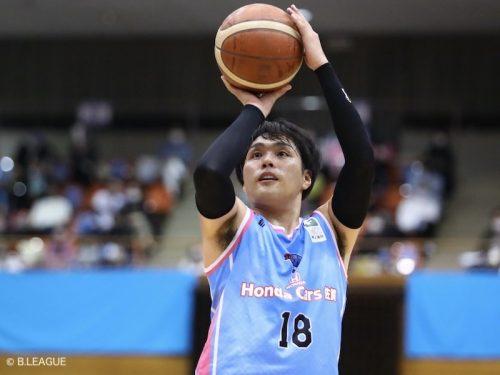 FE名古屋が今季B2の3ポイント成功率賞に輝いた相馬卓弥を獲得