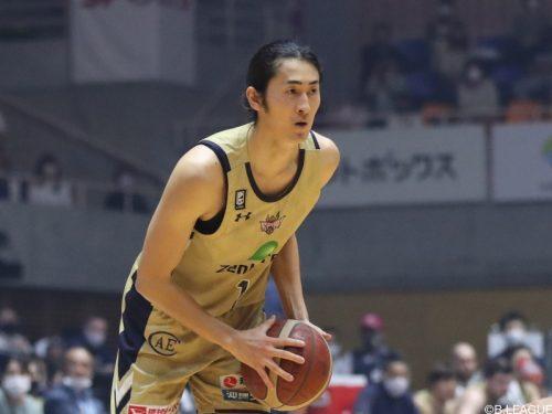 琉球が船生誠也の退団を発表「キングスでプレーできて幸せでした」