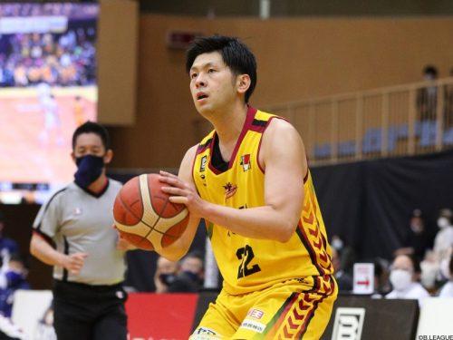 群馬が上江田勇樹と契約継続…今季52試合の出場で平均3.7得点