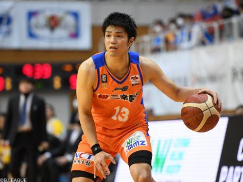 滋賀レイクスターズが柏倉哲平の加入を発表…今季新潟で54試合に出場