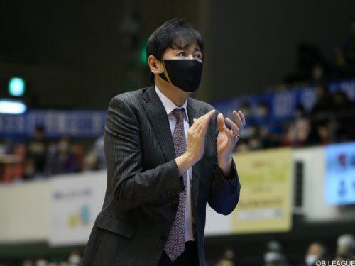 三河が鈴木貴美一HCの続投を発表「選手の熱量が伝わるような試合を…」