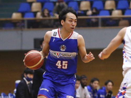 FE名古屋が鹿野洵生と契約継続…今季58試合で平均5.2得点