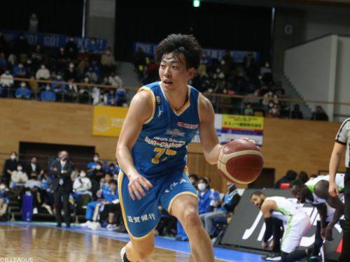 滋賀が前田怜緒との契約満了を発表…今季57試合で平均4.8得点をマーク