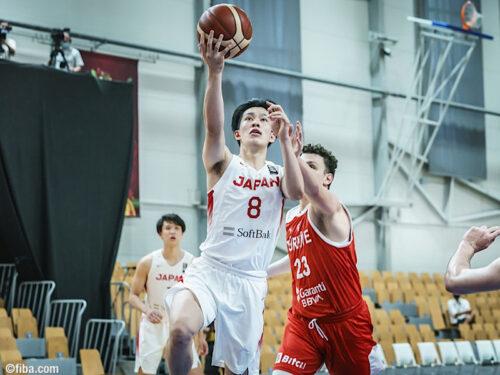 U19W杯9~16位決定戦に挑んだ日本…トルコに大差をつけられ敗戦