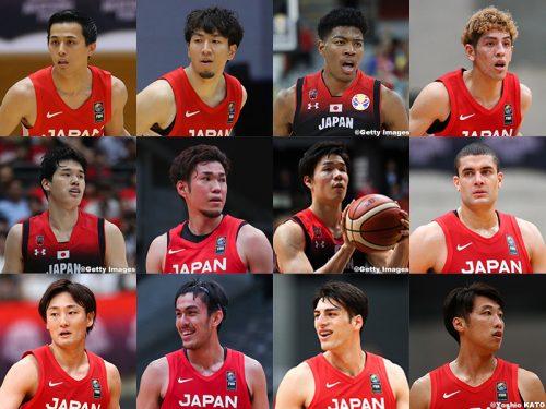 東京五輪の男子日本代表内定選手が発表! 八村塁や渡邊雄太ら12名が選出