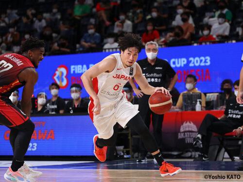 気迫あるプレーで日本を引っ張った比江島慎…「リーダーシップを取ってやらないと」