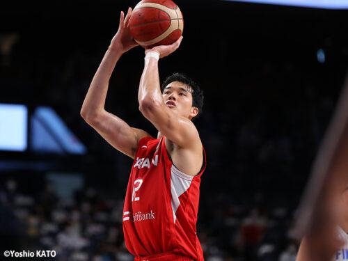 次なる国際強化試合に意欲を見せる渡邊雄太…「どれだけケミストリーを高めていくか」