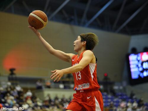 女子日本代表が40分を通じて集中力を切らさずヨーロッパの強豪ベルギーに快勝