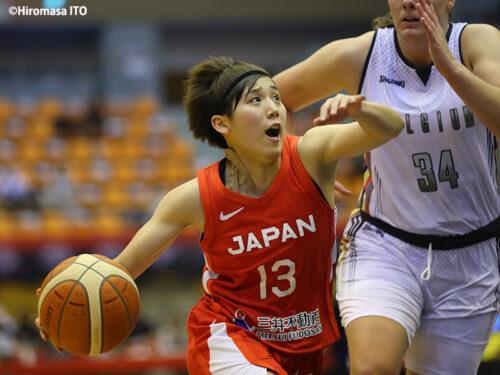国際強化試合最終戦は、日本を引っ張る絶対的司令塔の町田瑠唯に注目
