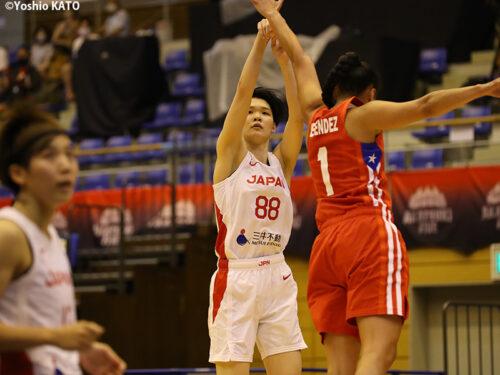 後半に攻守両面で圧倒した女子日本代表がプエルトリコに完勝!
