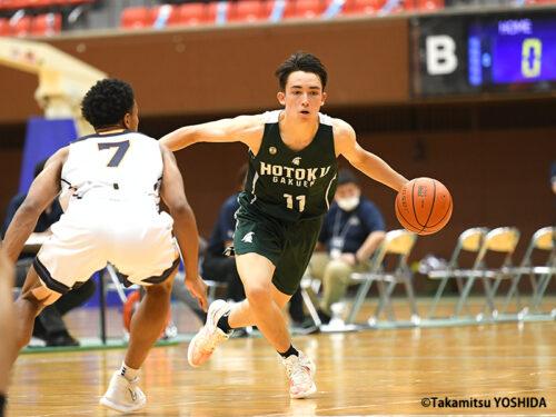 インターハイ男子注目選手(6)テーブス流河(報徳学園)「向上心を持ち続ける攻撃型司令塔」
