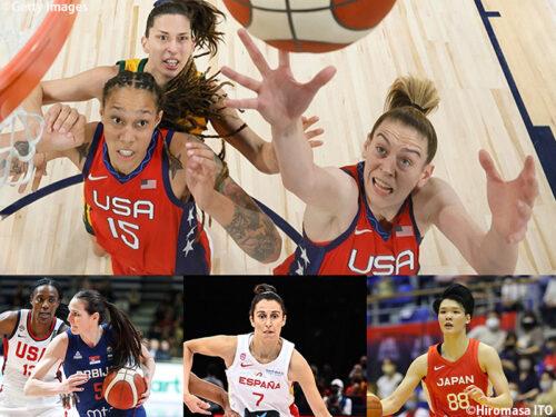 東京五輪バスケットボール出場全12カ国のパワーランキングは?【女子編】