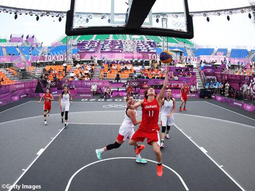 3x3予選プールがスタート…開幕戦に臨んだ女子日本代表はROCに悔しい敗戦