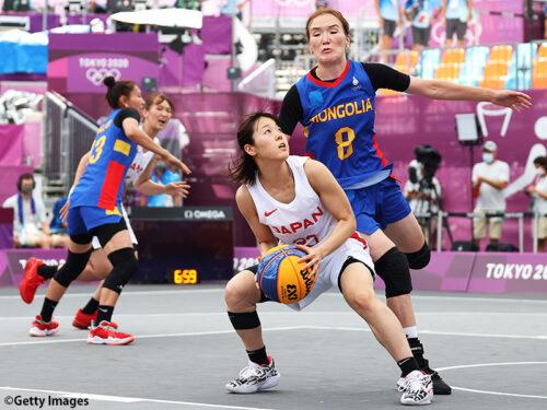 攻防にわたってモンゴルを圧倒…3x3女子日本代表が2勝目をマーク