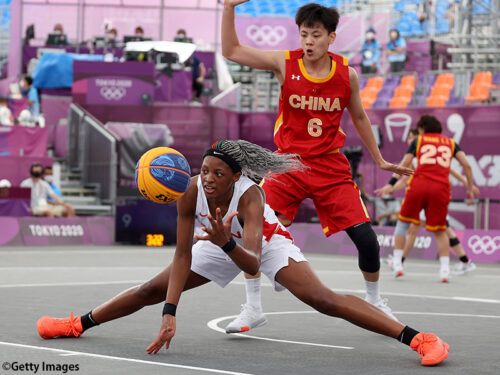 3x3女子日本代表…大会4勝目を狙うも中国に敗れる