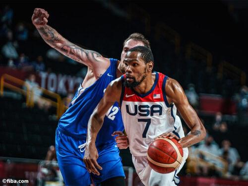 アメリカがチェコに35点差快勝…グループ2位で決勝トーナメントへ/東京オリンピック