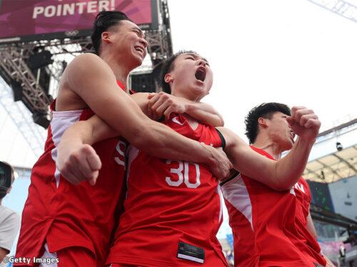 【写真ギャラリー】2021.7.24~27 東京オリンピック 3x3男子日本代表