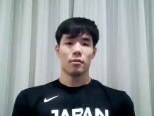 馬場雄大が日本代表に合流「代表を引っ張っていく思いで頑張りたい」