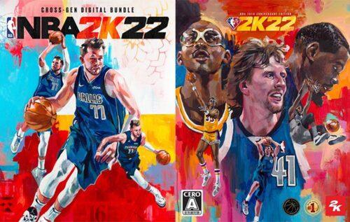 『NBA 2K22』グローバル版のカバー選手はルカ・ドンチッチ!7月15日から事前予約スタート