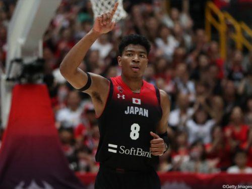 八村塁が東京五輪の旗手に決定「東京五輪はずっと夢見ていた舞台」