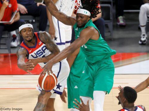 アメリカ代表がエキシビジョンゲーム初戦でナイジェリア代表に敗れて黒星発進に