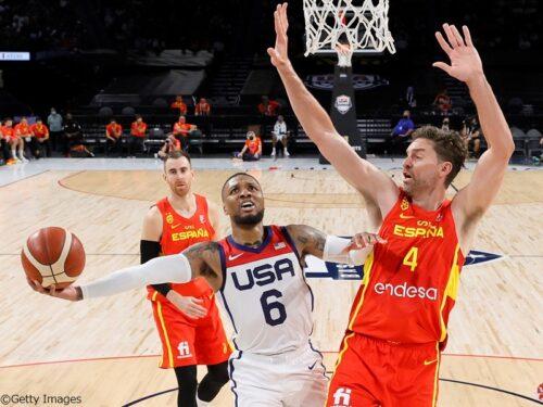 スペイン代表を撃破したアメリカ代表のリラード「最高のパフォーマンスだったと思う」