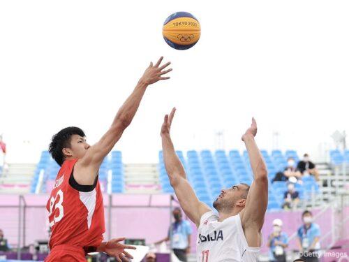 3x3男子日本代表…保岡が8得点と奮闘するも、セルビアに敗れて今大会4敗目