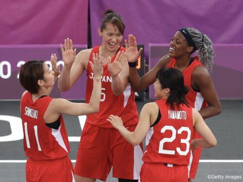 3x3女子日本代表…馬瓜の2ポイントシュートでイタリアにノックアウト勝利