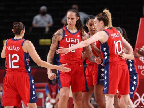 女子バスケの1次リーグ、米国など4カ国が白星発進/東京オリンピック