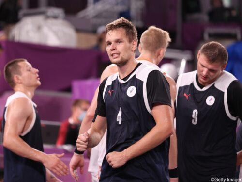 ROCが3x3男子オランダ代表にノックアウト勝利、準決勝でセルビア代表と対戦/東京オリンピック