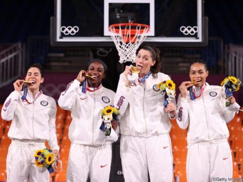 女子3x3…アメリカ代表が金メダルを獲得!/東京オリンピック