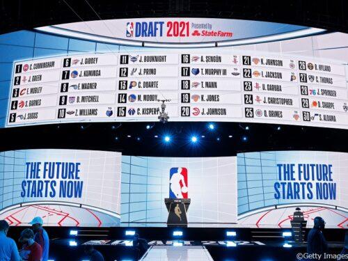 ピストンズが全体1位でケイド・カニングハムを指名/NBAドラフト2021 1巡目指名一覧