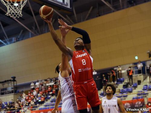 NBAコンビが躍動! 八村が24得点、渡邊が15得点を挙げた日本代表がベルギーに快勝