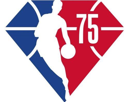 NBAが創設75周年目となる2021-22シーズンの特別なロゴを発表