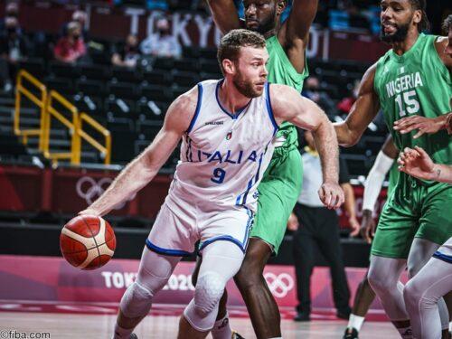 最終Qに猛攻を見せた男子イタリア代表がナイジェリアを撃破/東京オリンピック