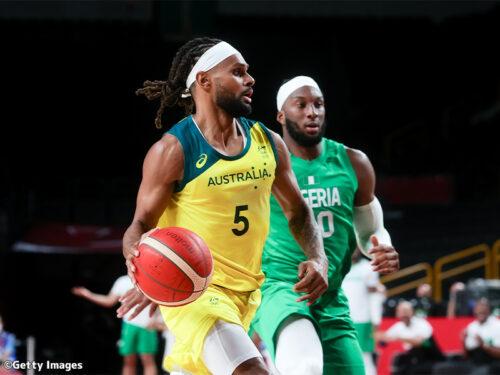 勝負強さを見せたオーストラリア…ナイジェリアを突き放して17点差快勝/東京オリンピック