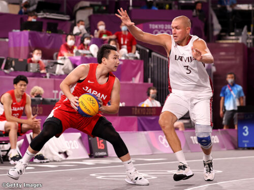 3x3男子日本代表…富永啓生&保岡龍斗の2ポイントが光るも、ラトビアに敗れ2連敗