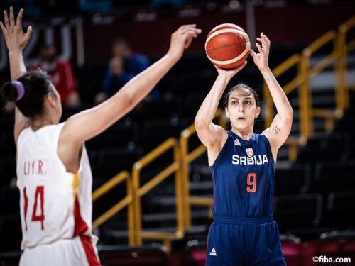 セルビア代表が中国代表を振り切りベスト4一番乗り/東京オリンピック