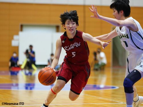 エースの証である『背番号5』…大阪薫英の宮城楽子は「ふさわしいプレーヤーになりたい」