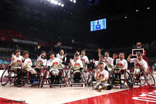 車いす女子日本代表が全員バスケで強豪イギリスに勝利/東京パラリンピック