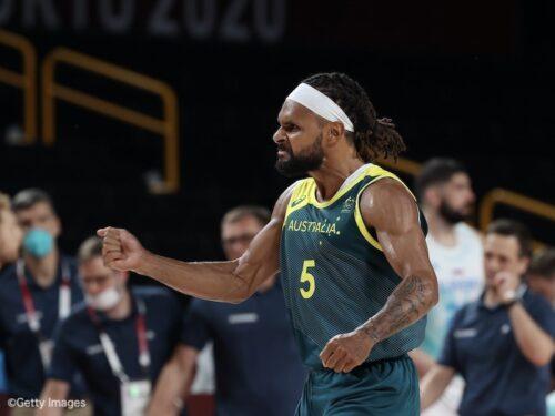 オーストラリアがスロベニアを撃破…ミルズの42得点で銅メダルを獲得/東京オリンピック