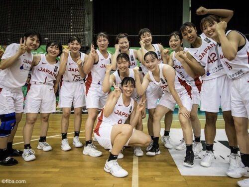 U19女子日本代表がイタリアに37点差の快勝…荻田美と江村優有が攻撃をけん引
