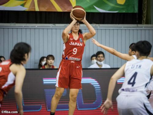 U19女子日本代表がチャイニーズ・タイペイに69点差圧勝…荻田美が3Pのみで21得点の活躍