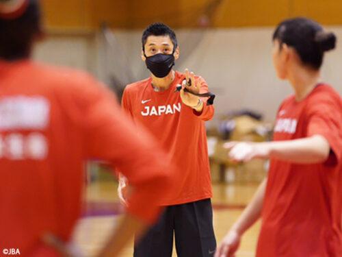 女子アジアカップに向けて恩塚HCが会見「目標はもちろん優勝です」